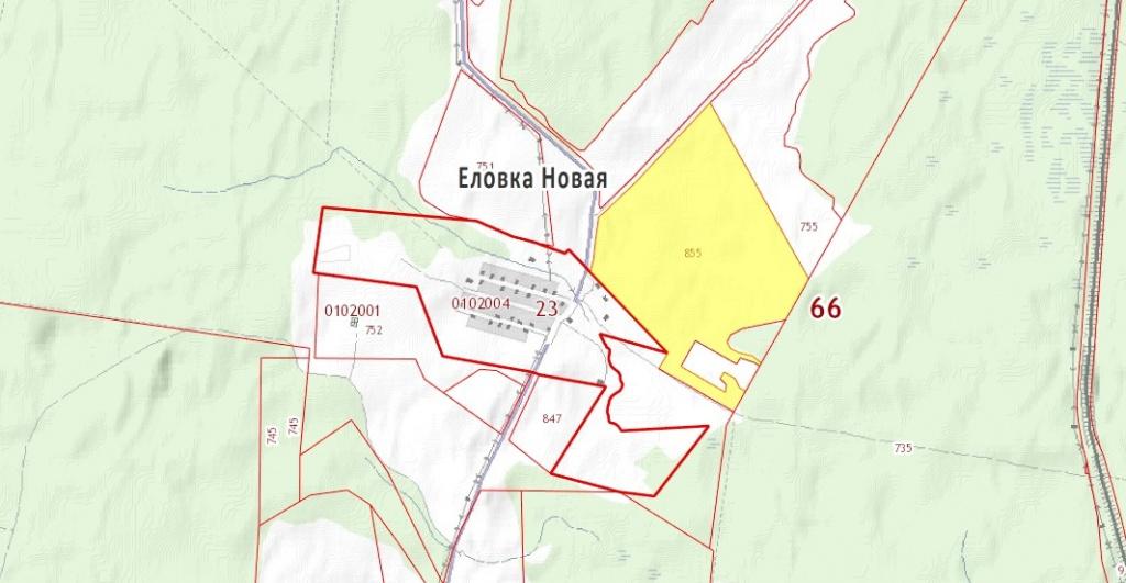 Власти Серова продают поле под Новой Еловкой
